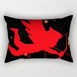 Cupid With Bow And Arrow Rectangular Pillow