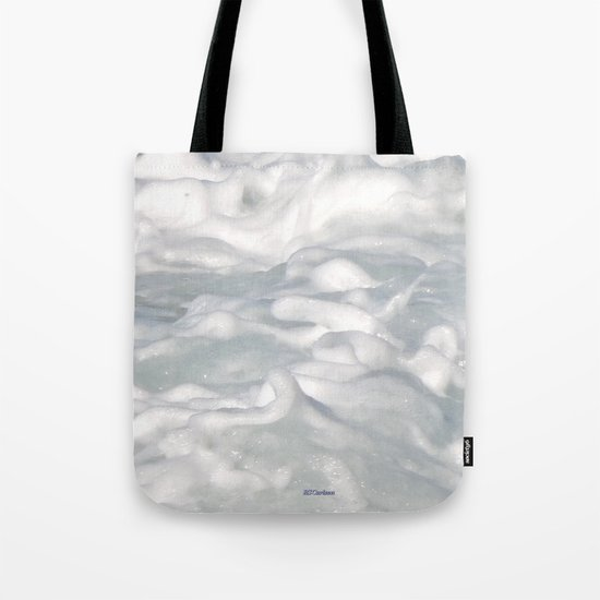 TEXTURES: Laguna Beach Sea Foam #3 Tote Bag