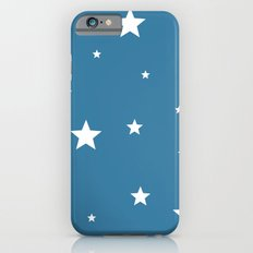White stars on blue Slim Case iPhone 6s