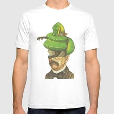 Guerrero Verde  MEDIUM Mens Fitted Tee White