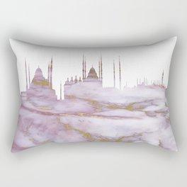 Istanbul Skyline Turkey Rectangular Pillow