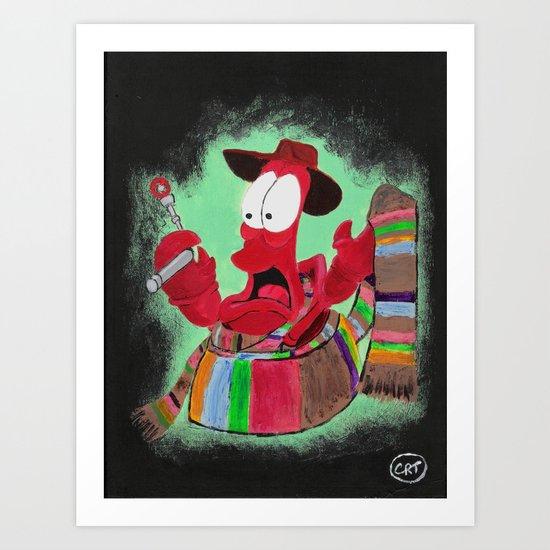 Who Dis Doctor 4 Art Print