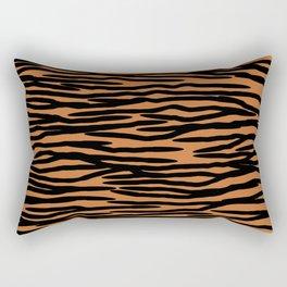 Tiger Skin Pattern Rectangular Pillow