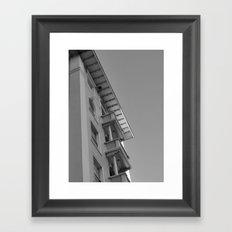 Beach Hotel Framed Art Print