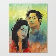 Gidget and Nino Canvas Print