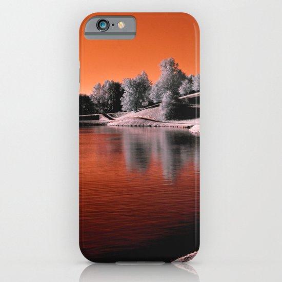 Infrared Sunrise iPhone & iPod Case