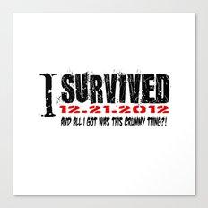 12.21.2012 Canvas Print