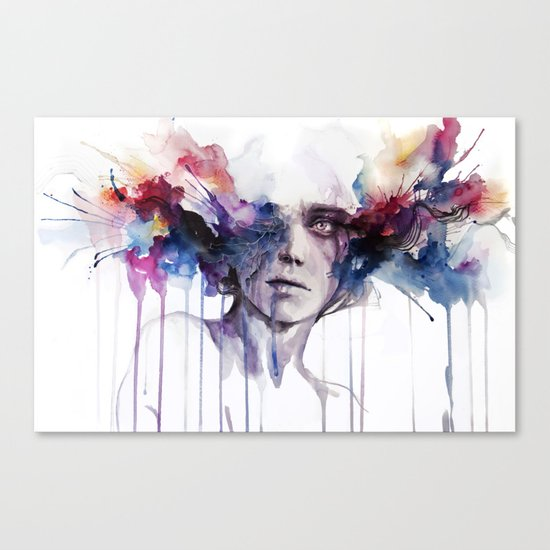 l'assenza Canvas Print