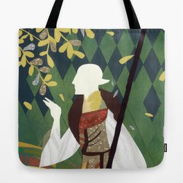 Dragon Age Solas Tarot Paper Art Tote Bag