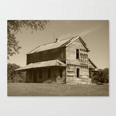 Abandoned house 2016 Canvas Print