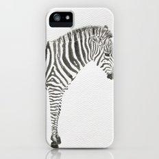 Zebra iPhone (5, 5s) Slim Case