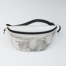 Cow and Calf Fanny Pack