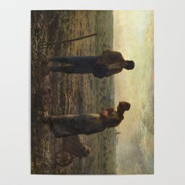 The Angelus by Jean Francois Millet Poster