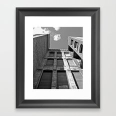 Historic Tacoma architecture Framed Art Print