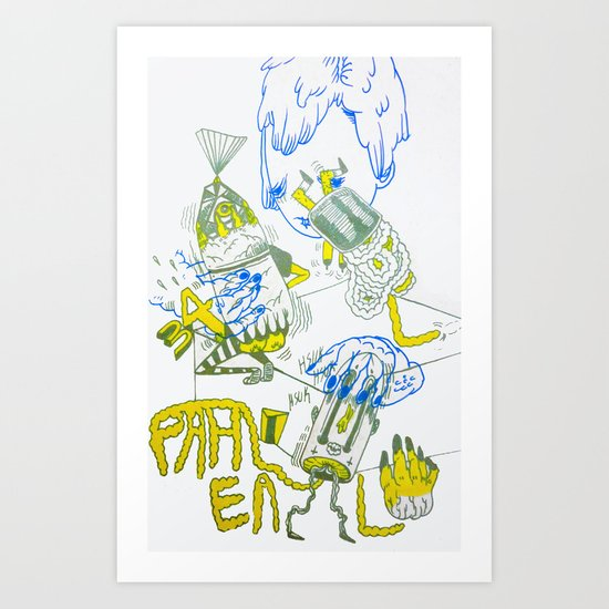 i like ash's mom Art Print