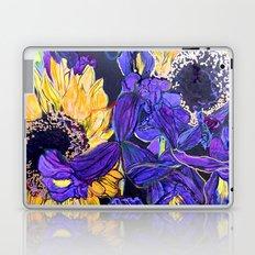 Sunflower & Iris Laptop & iPad Skin