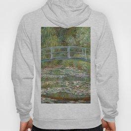 Monet, Water Lilies and Japanese Bridge, 1854 Hoody