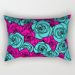 Field of Roses Rectangular Pillow