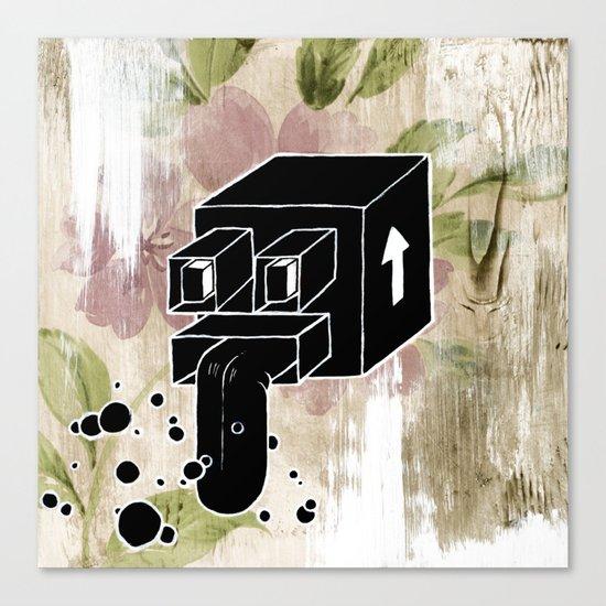 Mystery Xmas Exchange No:2 Canvas Print