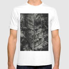 ... to highlight that contrast ... Mens Fitted Tee MEDIUM White