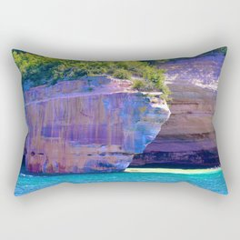 Michigan's_Pictured_Rocks Rectangular Pillow