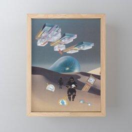 Time Travel Framed Mini Art Print