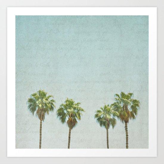 California Girls Art Print