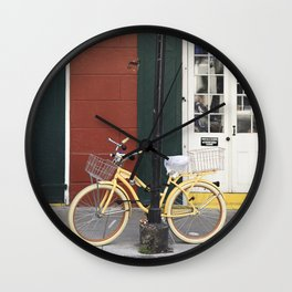 New Orleans Bicycle - Orleans Street Wall Clock