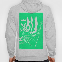 Eye Of The Tiger - Mint Green Hoody
