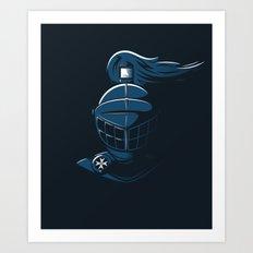 Knight Time Art Print