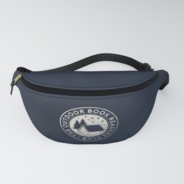 Outdoor Book Readers Club badge Fanny Pack
