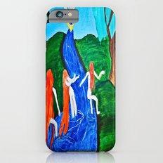 Adam and Eve in Wonder Land  iPhone 6s Slim Case