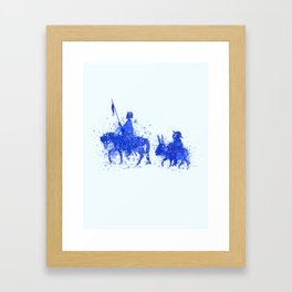 La Mancha Framed Art Print