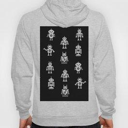 Robots Pattern Hoody