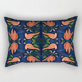 Palomas Noche Symmetrical Art2 Rectangular Pillow