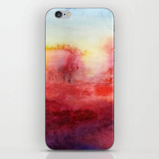 Where I End And You Begin iPhone & iPod Skin