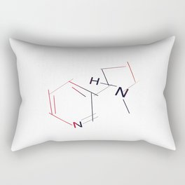Nicotine Rectangular Pillow