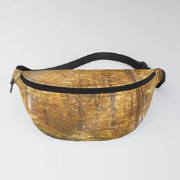 Autumn Forrest Gold Rays Fanny Pack