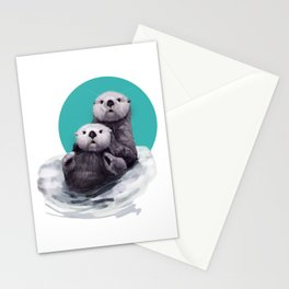 Hanging out Stationery Cards