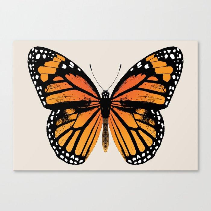 Monarch Butterfly | Vintage Butterfly | Leinwanddruck
