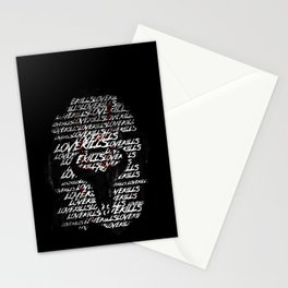 Love Kills Stationery Cards