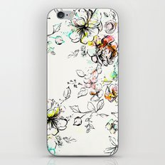 CAMP FLORAL iPhone & iPod Skin