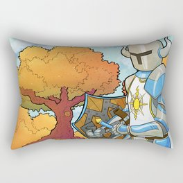 Have you praised the Sun today? Rectangular Pillow