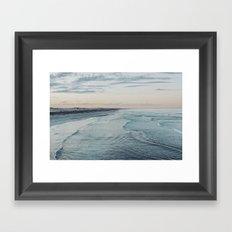 Dawn at Talia Cave Framed Art Print