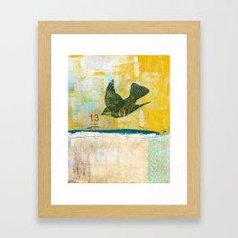 Lucky No. 13 Framed Art Print