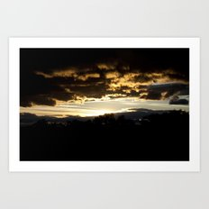 NM Sunset 8 Art Print