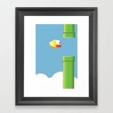 Flappy Bird! Framed Art Print