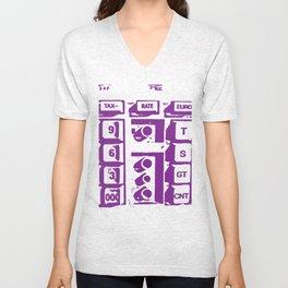 Calculator Unisex V-Neck