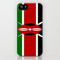 Flag of Kenya iPhone (5, 5s) Slim Case