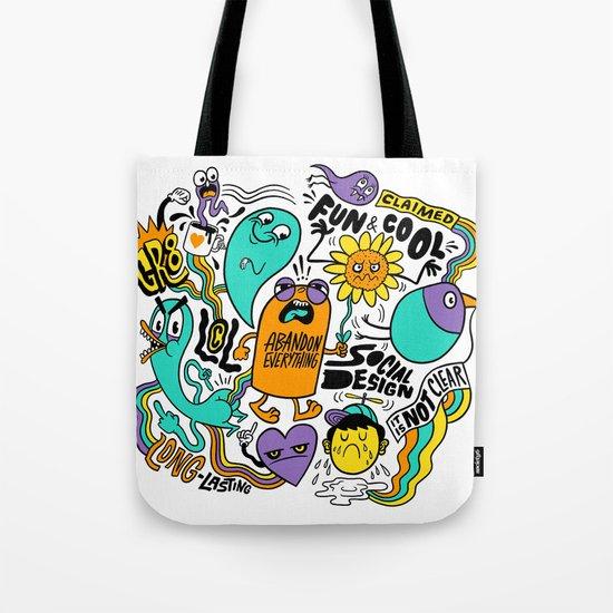 Fun & Cool Tote Bag